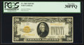 Small Size:Gold Certificates, Fr. 2402 $20 1928 Gold Certificate. PCGS Very Fine 30PPQ.. ...