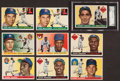 Baseball Cards:Lots, 1955 Topps Baseball Card Collection (208). ...