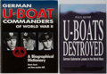 Books:Travels & Voyages, [WWII German U-Boats] Two Books on German U-Boat Commanders and U-Boat Losses including: Paul Kemp. U-Boats Destroye... (Total: 2 Items)