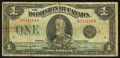 Canadian Currency: , DC-25n $1 1923. ...