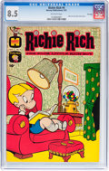 Silver Age (1956-1969):Humor, Richie Rich #4 File Copy (Harvey, 1961) CGC VF+ 8.5 Off-white pages....