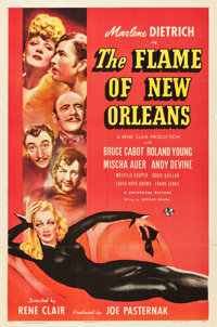 """The Flame of New Orleans (Universal, 1941). One Sheet (27"""" X 41"""") Style C"""