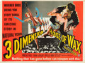 """Movie Posters:Horror, House of Wax (Warner Brothers, 1953). British Quad (30"""" X 40"""") 3-D Style.. ..."""