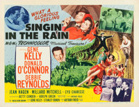"Singin' in the Rain (MGM, 1952). Half Sheet (22"" X 28"") Style B"