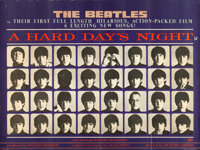 "A Hard Day's Night (United Artists, 1964). British Quad (30"" X 40"")"
