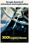 "Movie Posters:Science Fiction, 2001: A Space Odyssey (MGM, 1968). One Sheet (27"" X 41"") Style A....."