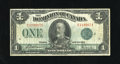 Canadian Currency: , DC-25j $1 1923. Nice edges for the grade. Fine....