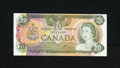 Canadian Currency: , BC-54a $20 1979.. Embossing is seen and felt on this example.Choice Crisp Uncirculated....