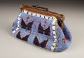 American Indian Art:Beadwork, A SIOUX BEADED HIDE HAND BAG. . c. 1890. ...