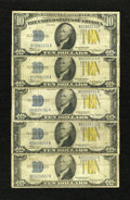 Small Size:World War II Emergency Notes, Fr. 2309 $10 1934A North Africa Silver Certificates. Very Good.. ... (Total: 5 notes)