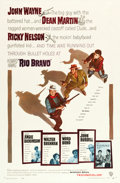 "Movie Posters:Western, Rio Bravo (Warner Brothers, 1959). One Sheet (27"" X 41"").. ..."