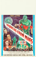 "Movie Posters:Science Fiction, Invaders from Mars (20th Century Fox, 1953). Window Card (14"" X22"").. ..."