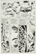 Original Comic Art:Panel Pages, Luke McDonnell, Ian Akin, and Brian Carvey Iron Man Annual#7 Page 5 Original Art (Marvel, 1984)....