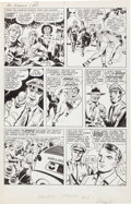Original Comic Art:Panel Pages, Joe Simon & Jack Kirby The Double Life of Private Strong#1 Page 11 Original Art (Archie, 1959)....