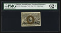 Fractional Currency:Second Issue, Fr. 1322 50¢ Second Issue PMG Uncirculated 62 Net.. ...