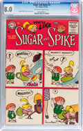 Silver Age (1956-1969):Humor, Sugar and Spike #2 (DC, 1956) CGC VF 8.0 Off-white to whitepages....