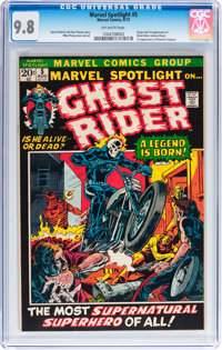 Marvel Spotlight #5 (Marvel, 1972) CGC NM/MT 9.8 Off-white pages