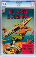 Golden Age (1938-1955):Science Fiction, Four Color #204 Flash Gordon (Dell, 1948) CGC NM 9.4 Off-whitepages....
