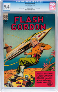Four Color #204 Flash Gordon (Dell, 1948) CGC NM 9.4 Off-white pages