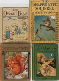Books:Children's Books, [Children's Illustrated]. Group of Four Books. Various publishersand editions. Publisher's decorated binding. Good or bette...(Total: 4 Items)