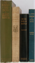 Books:Children's Books, [Children's Illustrated, Dogs]. Group of Four Children's BooksRelated to Dogs. Various publishers and editions. Publisher's...(Total: 4 Items)