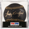 Baseball Collectibles:Balls, Sandy Koufax Single Signed Baseball, PSA Mint+ 9.5. ...