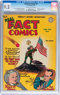 Golden Age (1938-1955):Non-Fiction, Real Fact Comics #6 (DC, 1947) CGC NM- 9.2 Off-white to whitepages....