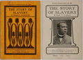 Books:Americana & American History, [Slavery] Booker T. Washington. Two Editions of The Story ofSlavery. F. A. Owen/Hall & McCreary, 1913. Includes...(Total: 2 Items)
