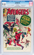 Silver Age (1956-1969):Superhero, The Avengers #6 (Marvel, 1964) CGC NM/MT 9.8 White pages....