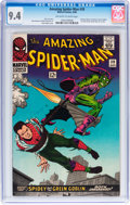Silver Age (1956-1969):Superhero, The Amazing Spider-Man #39 (Marvel, 1966) CGC NM 9.4 Off-white towhite pages....