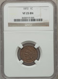 Indian Cents: , 1872 1C VF25 NGC. NGC Census: (20/505). PCGS Population (47/654).Mintage: 4,042,000. Numismedia Wsl. Price for problem fre...