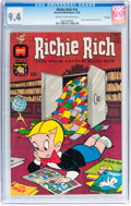 Silver Age (1956-1969):Humor, Richie Rich #14 File Copy (Harvey, 1962) CGC NM 9.4 Cream to off-white pages....