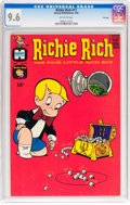 Silver Age (1956-1969):Humor, Richie Rich #11 File Copy (Harvey, 1962) CGC NM+ 9.6 Off-white pages....