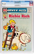 Silver Age (1956-1969):Humor, Harvey Hits #3 Richie Rich (Harvey, 1957) CGC NM- 9.2 Cream to off-white pages....