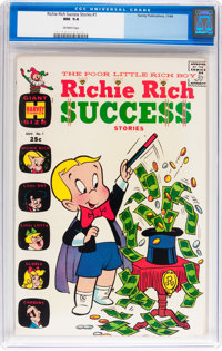 Richie Rich Success Stories #1 (Harvey, 1964) CGC NM 9.4 Off-white pages