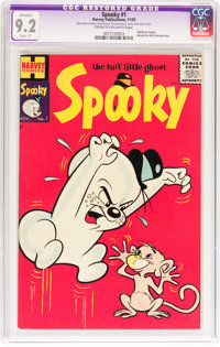 Spooky #1 (Harvey, 1955) CGC Apparent NM- 9.2 Slight (P) Cream to off-white pages