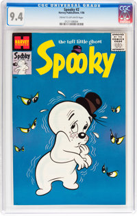 Spooky #2 (Harvey, 1956) CGC NM 9.4 Cream to off-white pages