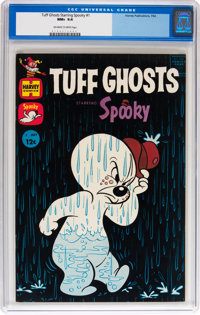 Tuff Ghosts Starring Spooky #1 (Harvey, 1962) CGC NM+ 9.6 Off-white to white pages