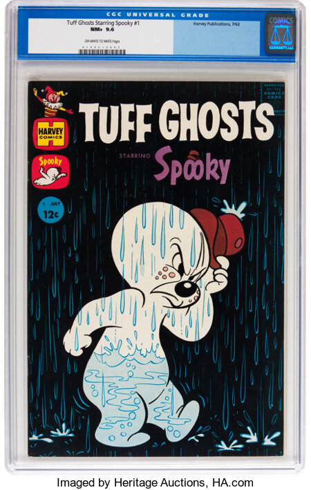 Tuff Ghosts Starring Spooky #1 (Harvey, 1962) CGC NM+ 9.6 Off-white to white pages....