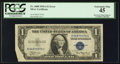 Error Notes:Foldovers, Fr. 1608 $1 1935A Silver Certificate. PCGS Extremely Fine 45.. ...