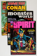 Magazines:Miscellaneous, Assorted Comic Magazines Group (Various Publishers, 1964-84)Condition: Average VF.... (Total: 12 Comic Books)