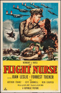 "Movie Posters:War, Flight Nurse & Other Lot (Republic, 1953). One Sheets (2) (27""X 41""). War.. ... (Total: 2 Items)"