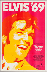 """The Trouble with Girls (MGM, 1969). One Sheet (27"""" X 41""""). Elvis Presley"""