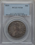 Bust Half Dollars: , 1819 50C VF20 PCGS. PCGS Population (17/438). NGC Census: (10/441).Mintage: 2,208,000. Numismedia Wsl. Price for problem f...