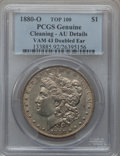 Morgan Dollars, 1880-O $1 Vam-43, Doubled Ear -- Cleaned -- PCGS Genuine. AUDetails. Top-100. PCGS Population (6/48)....