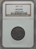 Half Cents: , 1809 1/2 C AU50 NGC. NGC Census: (12/199). PCGS Population(26/122). Mintage: 1,154,572. Numismedia Wsl. Price for problem ...
