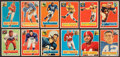 Football Cards:Sets, 1956 Topps Football Partial Set (80/120) with Stars and HoFers. ...