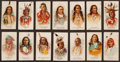"Non-Sport Cards:Sets, 1887 N2 Allen & Ginter ""Indian Chiefs"" Partial Set (34/50). ..."