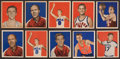 Basketball Cards:Lots, 1948 Bowman Basketball Collection (31). ...