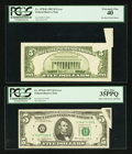 Error Notes:Error Group Lots, Fr. 1974-G $5 1977 Federal Reserve Note. PCGS Very Fine 35PPQ;. Fr.1978-K $5 1985 Federal Reserve Note. PCGS Extremely Fi... (Total: 2notes)